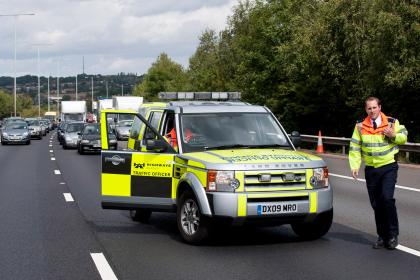 Fined for Moving out of the way of an ambulance