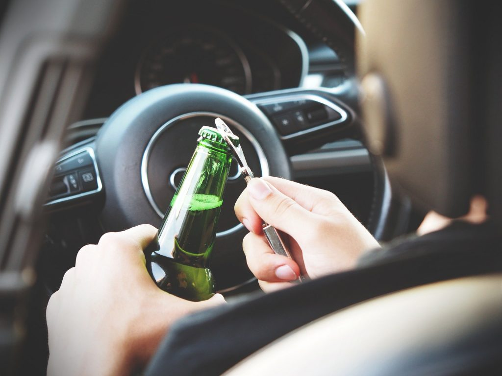 The Number Car Accidents Caused By Alcohol Are Up By 4%